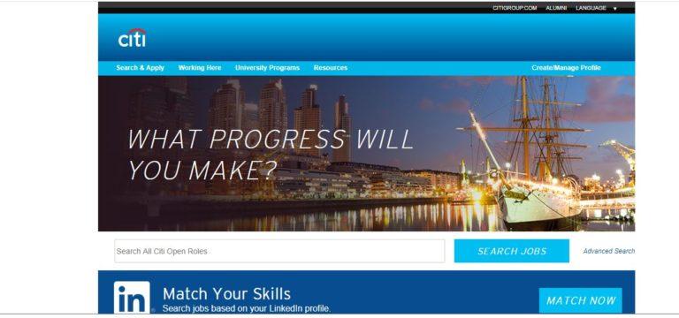 Citi Bank Recruitment 2021 – Apply Online Fresher job Openings