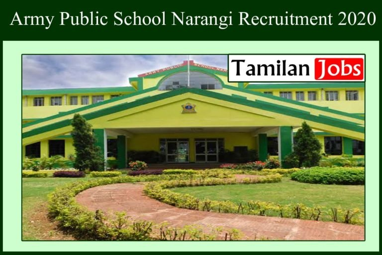 Army Public School Recruitment 2020 Out – Apply 52 PGT, TGT Jobs