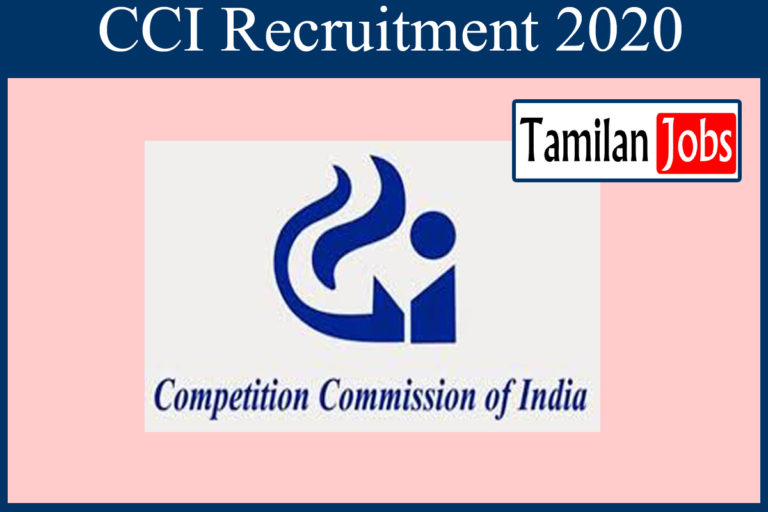 CCI Recruitment 2020 Out – Apply Online 95 Junior Assistant Jobs