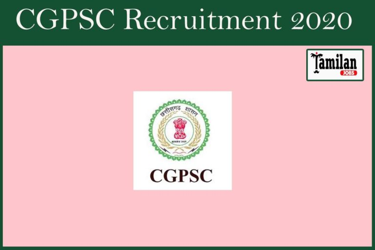CGPSC Recruitment 2020 Out – Apply Online Various Civil Judge Jobs