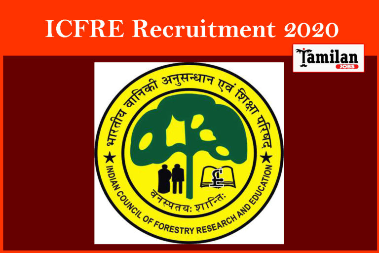 ICFRE Recruitment 2020 Out – Apply 18 JRF, Project Assistant Jobs