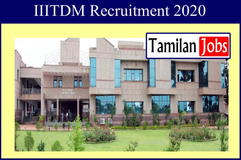IIITDM Recruitment 2020 Out – Apply Online Various Professors Jobs