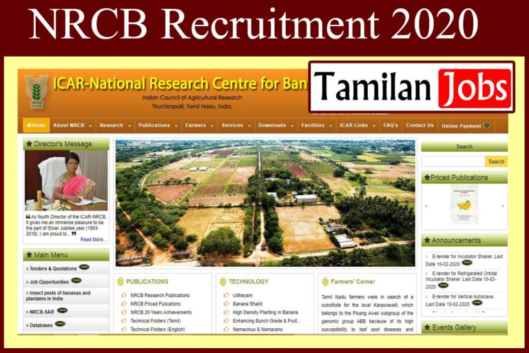 NRCB Recruitment 2020 Out – Apply Young Professional Jobs
