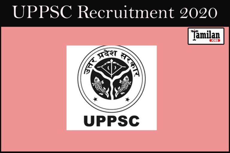 UPPSC Recruitment 2020 Out – Apply 328 Assistant Professor Jobs