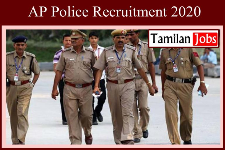 AP Police Recruitment 2020 Out – 15000 Police Jobs