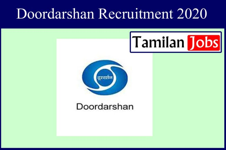 Doordarshan Kendra Recruitment 2020 Out – Candidates Can Apply For 37 Stenographer  Jobs