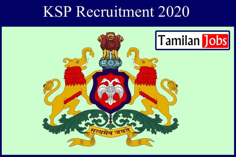 KSP Recruitment 2020 Out – Apply 45 Laboratory Assistant Jobs