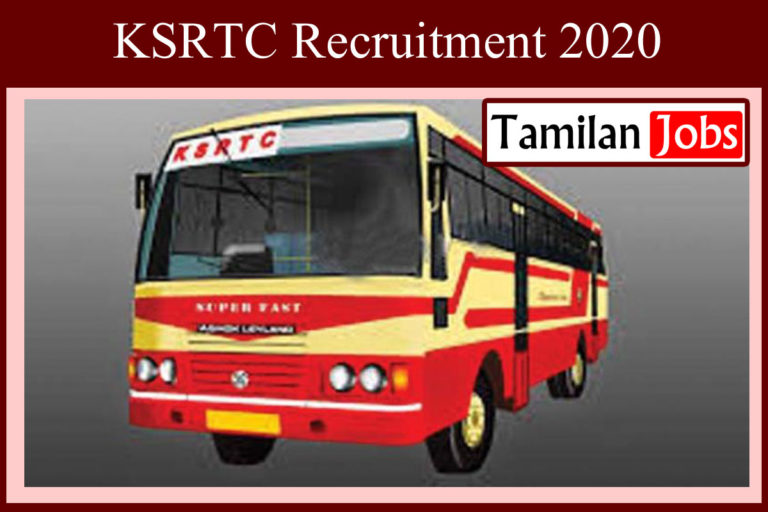 KSRTC Recruitment 2020 Out – 10th Candidates Apply For 3745 Driver Jobs | Last Date Extended