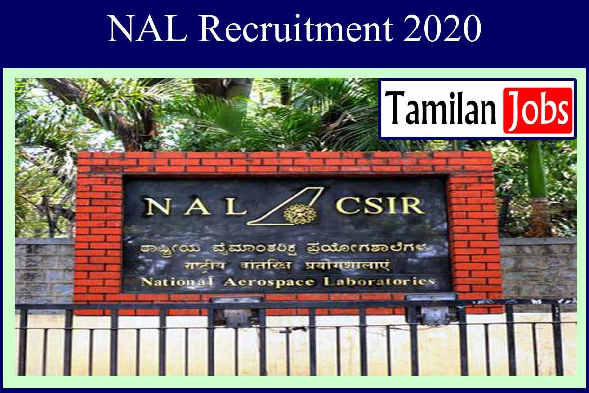 NAL Recruitment 2020