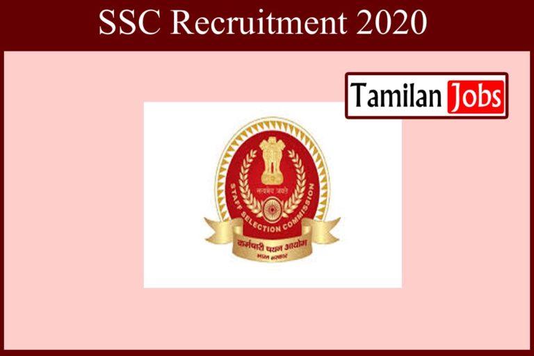 SSC Recruitment 2020 Out – Apply 1500+ Stenographer Jobs