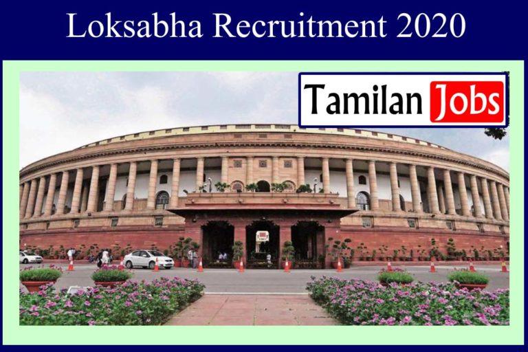Loksabha Recruitment 2020 Out – Graduate Candidates Apply For 40 Secretariat Assistant Jobs