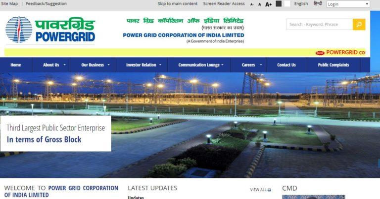 PGCIL Field Supervisor Admit Card 2020, Exam Date @ powergridindia.com