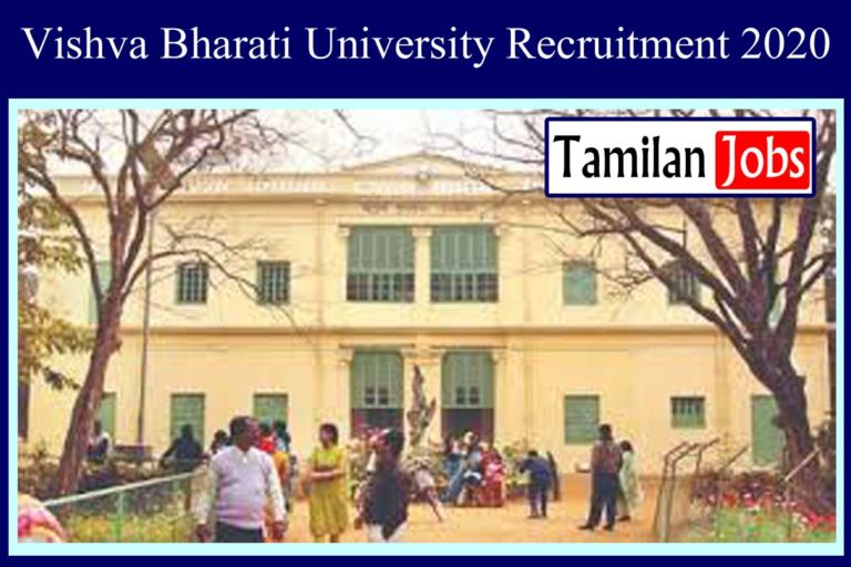 Visva Bharati University Recruitment 2020 Out – Post Graduate Degree Candidates Apply for Guest Teacher Jobs