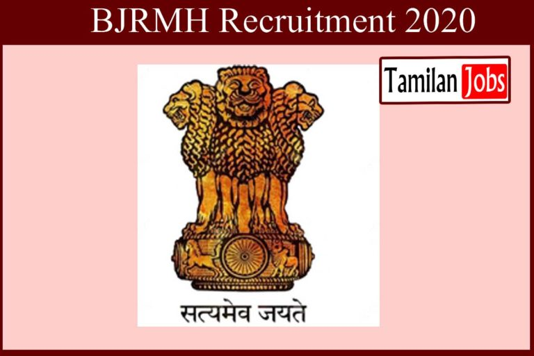 BJRMH Recruitment 2020 Out – Diploma, Degree Candidates Apply For Senior Resident Jobs