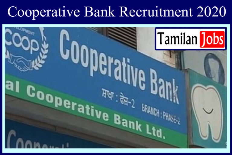 Coimbatore Cooperative Bank Recruitment 2020 Out – Any Degree Candidates Apply For 136 Assistant Jobs