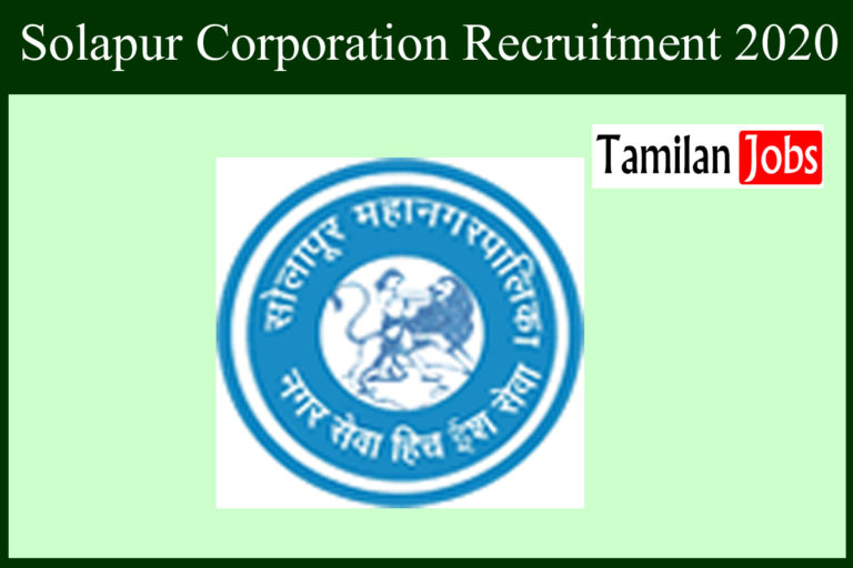 Solapur Corporation Recruitment 2020 Out – GNM, B.Sc, MBBS Candidates Apply For 216 Staff Nurse Jobs