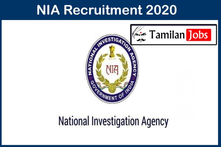 NIA Recruitment 2020 Out – Apply 52 Associate Professor Jobs