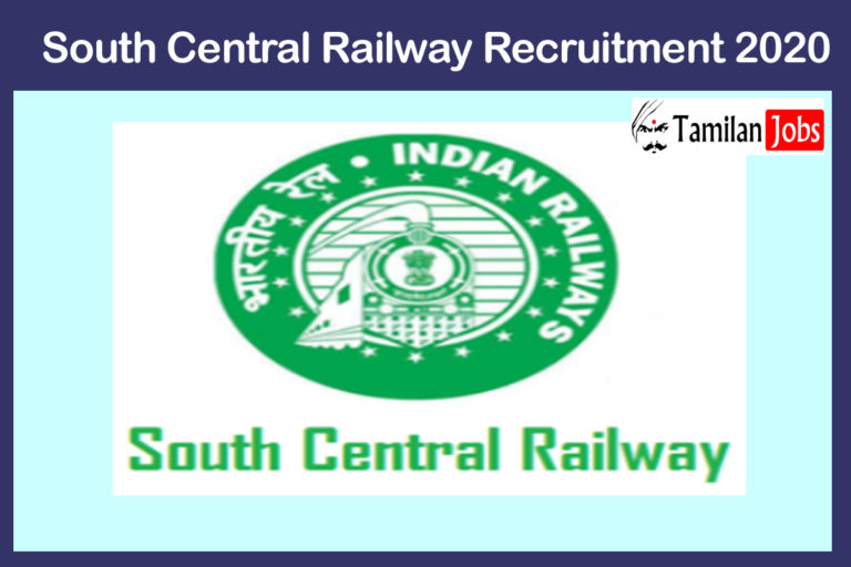 South Central Railway Recruitment 2020 Out – Apply Online 110 Lab Asst, Hospital Attendant & Other Posts Jobs