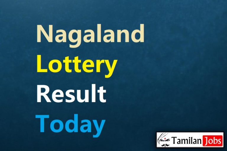Nagaland State Lottery Result Live Today 15.4.2021, 8 PM, Night, Evening