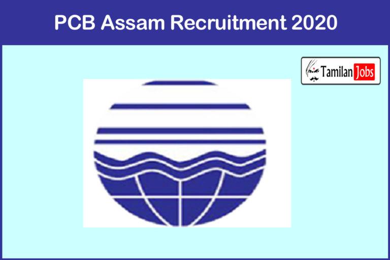 PCB Assam Recruitment 2020 Out – Apply Online 14 Junior Accountant Jobs