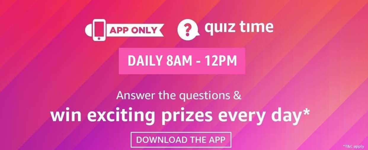 Amazon Quiz Today
