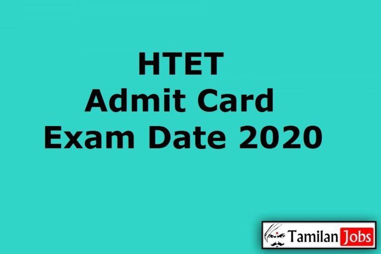 HTET Admit Card 2020 (Out), Haryana Teacher Eligibility Test Date @ bseh.org.in