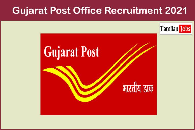 Gujarat Post Office Recruitment 2021 Out – Apply 1856 Apprentice Jobs