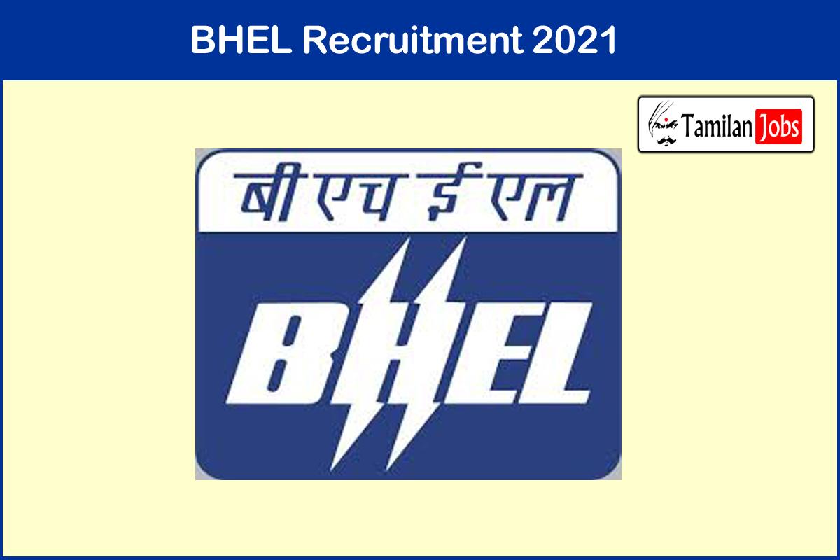 BHEL Jhansi Recruitment 2021