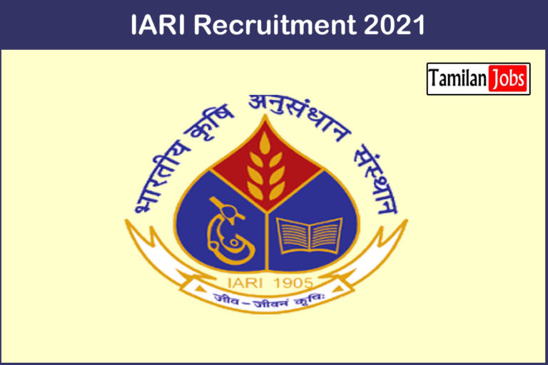 IARI Recruitment 2021 Out – Apply Technical Assistant Jobs
