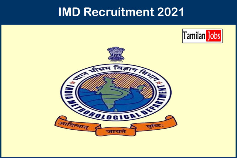 IMD Recruitment 2021 Out – Apply 54 Scientist Jobs