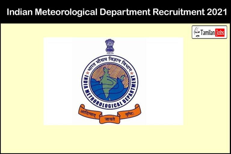 Indian Meteorologaical Department Recruitment 2021 Out – Apply Online 54 Scientist Jobs