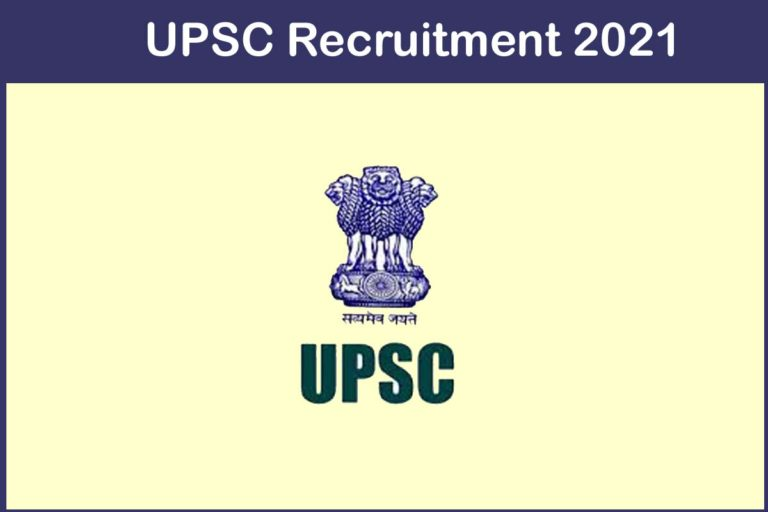 UPSC Recruitment 2021 Out – Apply Online 159 CAPF Jobs