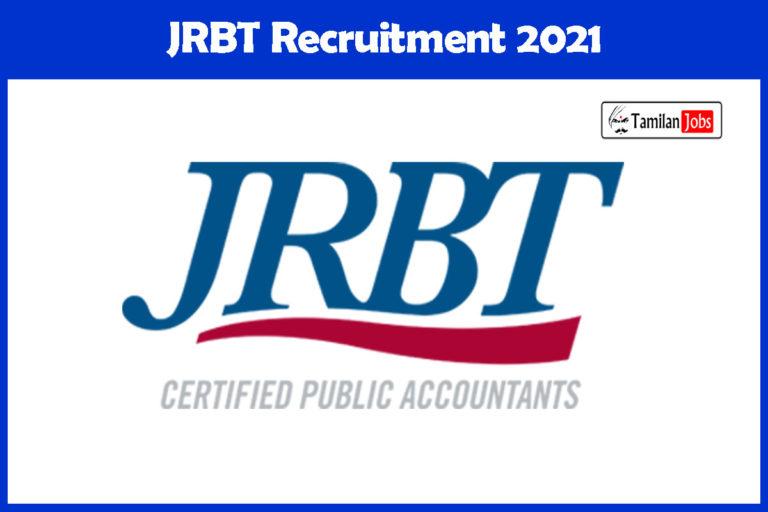 JRBT Recruitment 2021 Out – Apply Online 2410 LDC, Agriculture Assistant, Group C Jobs