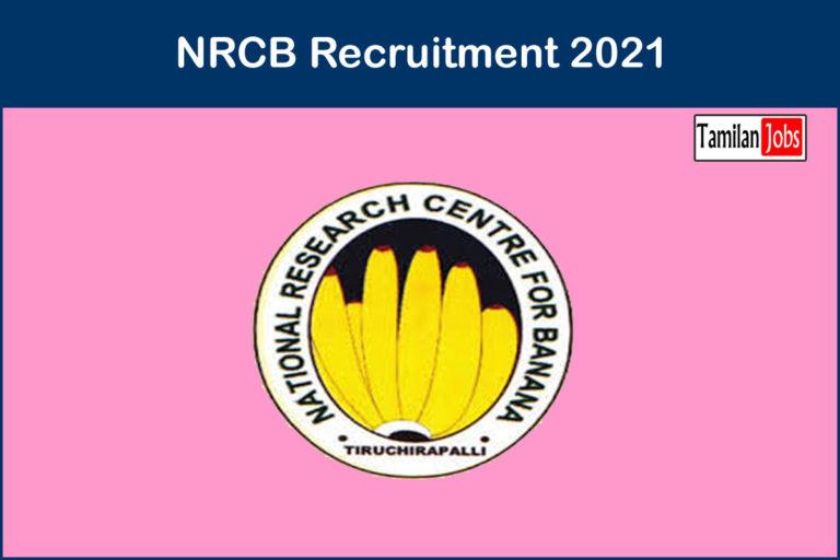 NRCB Recruitment 2021 – Apply JRF Jobs