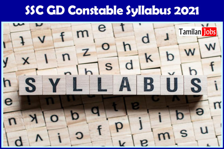 SSC GD Constable Syllabus, Exam Pattern PDF Download | Check Details Here