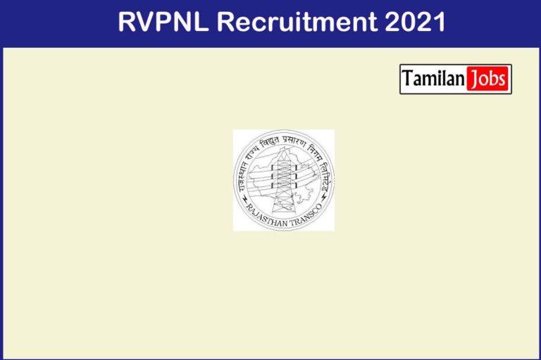 RVPNL Recruitment 2021 Out – Apply 1295 Junior Accountant Jobs