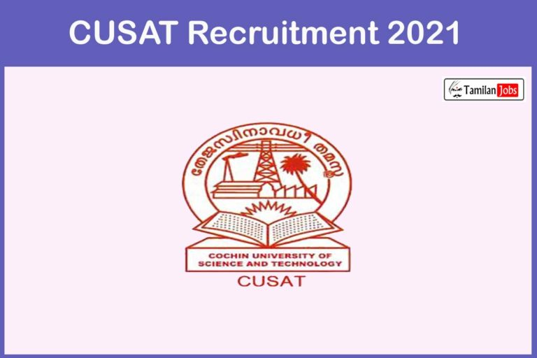 CUSAT Recruitment 2021 Out – Apply Online 40 Assistant Professor Jobs