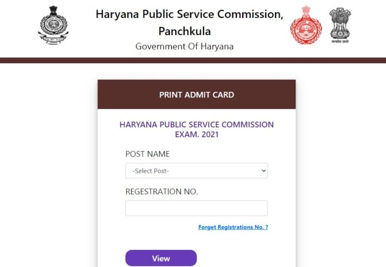 HPSC Assistant Professor Admit Card 2021 (Out), Exam Date @ hpsc.gov.in