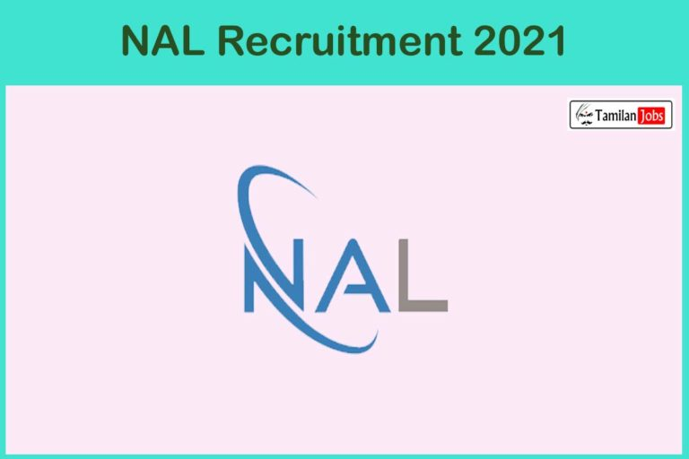 NAL Recruitment 2021 – Apply Online 26 Technical Officer Jobs