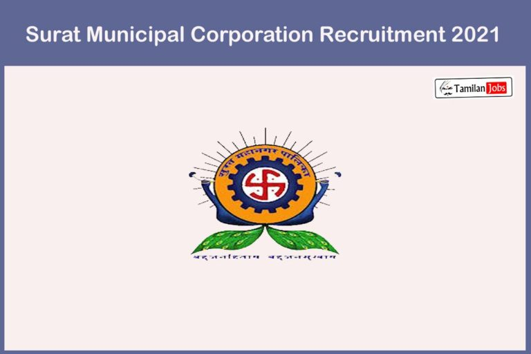 Surat Municipal Corporation Recruitment 2021 Out – Apply Online 1376 Staff Nurse Jobs