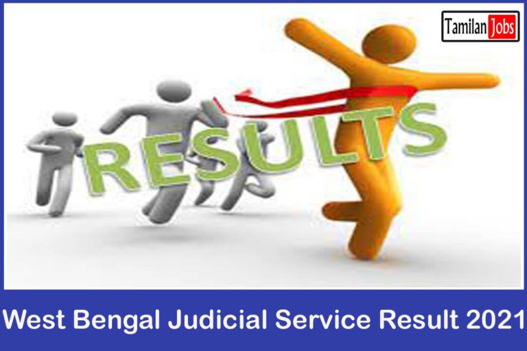 WB Judicial Service Mains Result 2021 (OUT) @ pscwbonline.gov.in | Cutoff Marks & Merit List